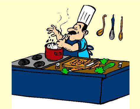 dessin de cuisinier colorie par mounita123 le 17 de novembre de 2012 224 coloritou