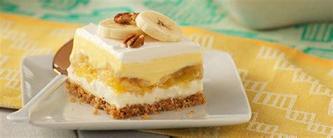 recettes de desserts aux bananes kraft canada