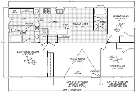 Fleetwood Mobile Homes Floor Plans Wide Mobile Home Floor Plans Fleetwood Mobile
