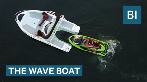 Jet Ski Boat Youtube by This Boat Is Powered By Your Jet Ski Youtube
