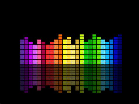Music Equalizer Backgrounds  Black, Music Templates