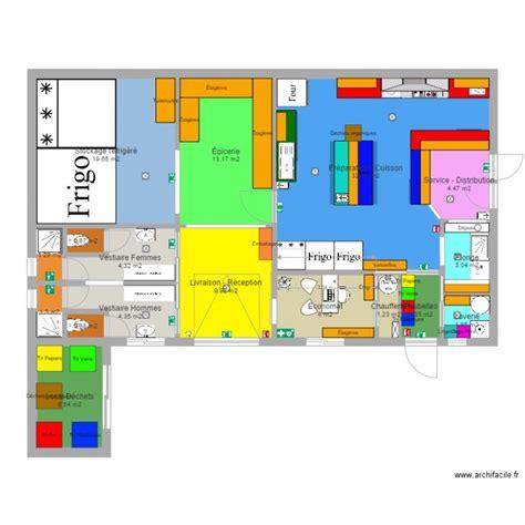 plan cuisine professionnelle plan 17 pi 232 ces 114 m2 dessin 233 par nicolascp