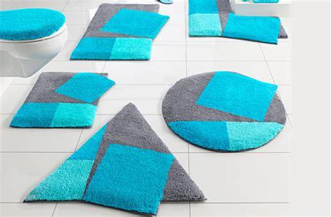 beaux mod 232 les de tapis de salle de bain bleus