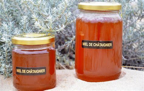 miel de ch 226 taignier pot verre le rucher des sables