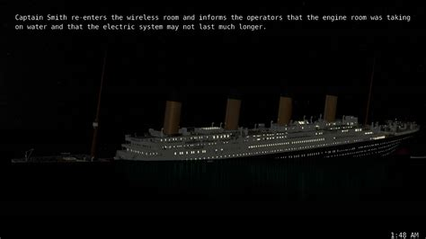 titanic real time sinking pt 7