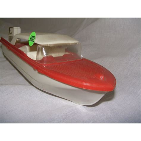 Toy Ships And Boats by Vintage Toy Plastic Boat And Motor
