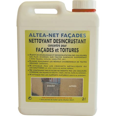 nettoyant fa 231 ade toiture altea by itc 5 l leroy merlin