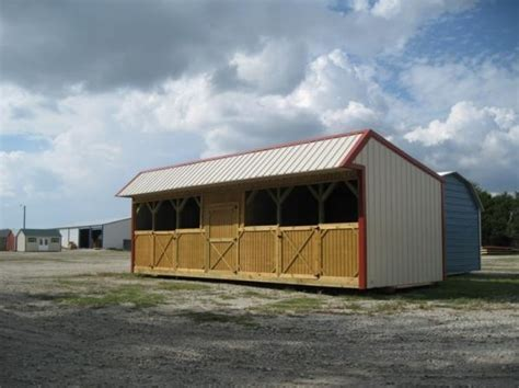 loafing shed with stalls carports sheds