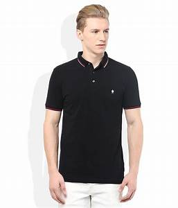 FCUK Black Polo Neck T Shirt - Buy FCUK Black Polo Neck T ...