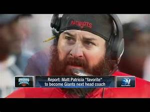 WATCH: Giants head coach search update, Matt Patricia in ...