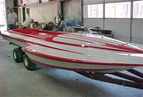 Wet Sanding Boat Bottom Paint by Proud Mary Blown Fuel Hydro Restoration