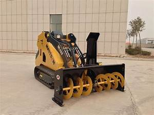 ML526 TRACK LOADER mini skid steer loader attachments ...