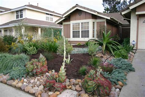 For Front Yard Without Grass Landscaping Ideas No Home