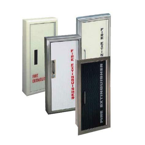 semi recessed extinguisher cabinet jl industries