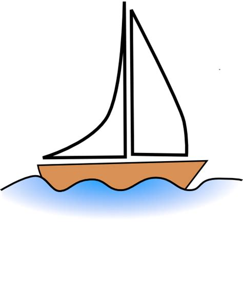 Cartoon Drawing Of A Boat by Boat 11 Clip Art At Clker Vector Clip Art Online