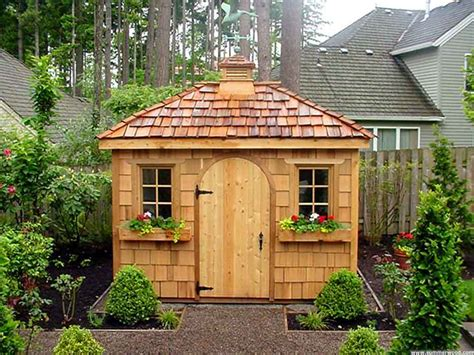Garden Shed : Construct Your Personal Shed With