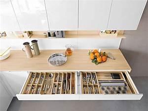 Weiße Hochglanz Küche Reinigen : holz arbeitsplatten machen die moderne k che gem tlich ~ Markanthonyermac.com Haus und Dekorationen