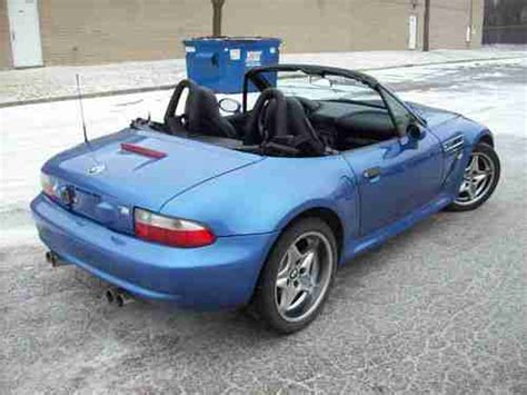 Find Used 2000 Bmw Z3 M Roadster Convertible 2-door 3.2l