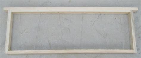 cadre dadant de hausse mont 233 fil 233 garni de cire gaufr 233 e domapi