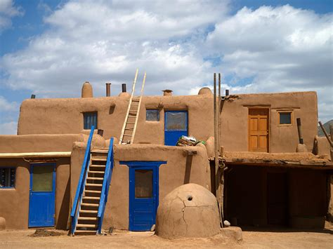 inspiring pueblo adobe houses photo pueblo de taos world heritage site national geographic