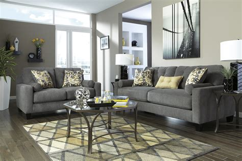 Nolana Charcoal Sofa Furniture Inspirational Charcoal Sofa Pinterest Small Living Room With Fireplace Ideas In Black And White Sets Denver Tiles On Wall Cute Kitchen Canisters Sofa Blue Formal Furniture Price India