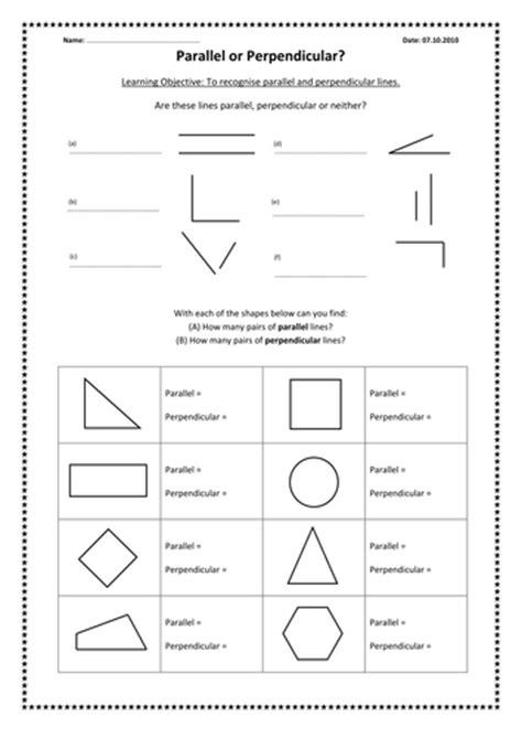 Parallel And Perpendicular Lines By Kimberleylloyd