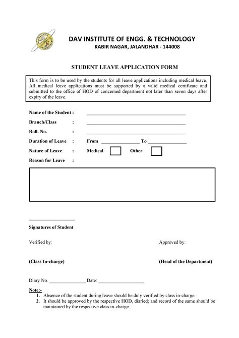 Student Leave Application Form  Daviet College. Sample Cover Letter For Volunteer Position In Template. Operations Manager Cv Template. Months Of The Year Calendar Template. Indesign Newsletter Templates. Making A Flyer Online Template. Sample Of Resumes Examples For Nurses. Sample Objectives In Resume For It Template. Incident Report Template Microsoft Pics