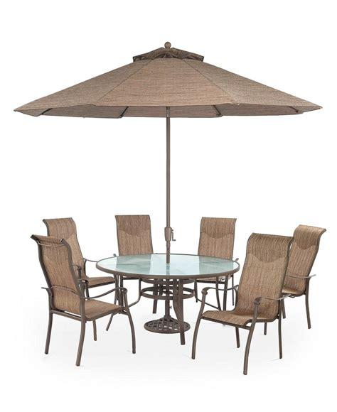 oasis outdoor patio furniture 7 set 60