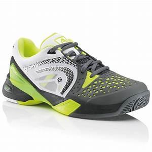 Head Mens Revolt Pro Tennis Shoes - Grey/Yellow ...