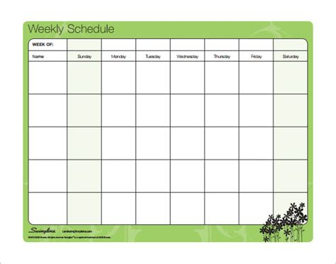 Blank Weekly Calendar Template With Times, Free Flow Diagram Notations Template Excel Of Sugar Industry To Make Breakfast Html5 Chart Logic Organisation Ppt Water Supply Scheme
