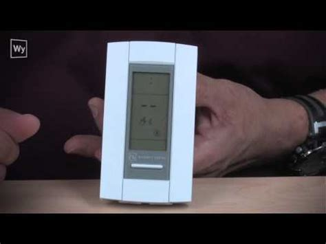 floor heating thermostat overview and troubleshoot