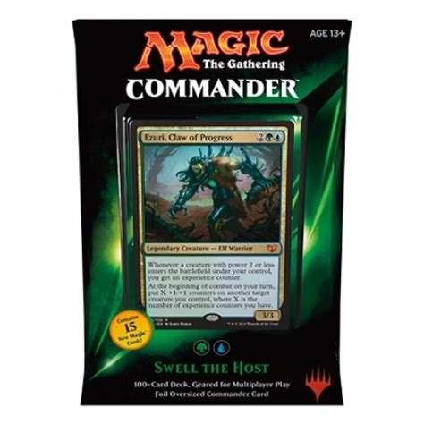 commander deck 2015 swell the host magic the gathering wizards of the coast kortspel