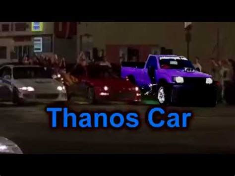 Thanos Car Meme Youtube