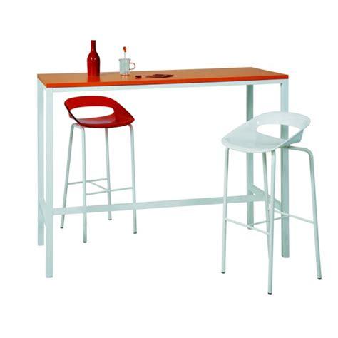 table haute 233 troite 4 pieds pour int 233 rieur