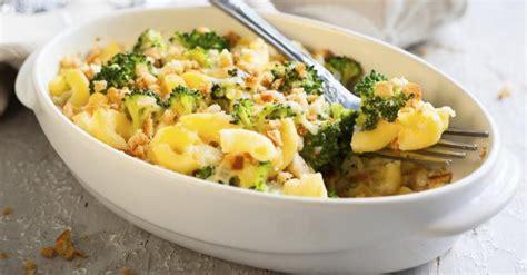 recette de gr 226 tin de p 226 tes aux brocolis et jambon 224 la