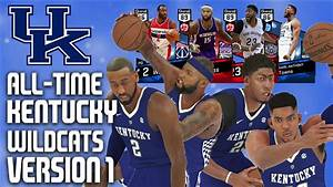 NBA 2K17 MyTeam - All-Time Kentucky Wildcats Team Version ...