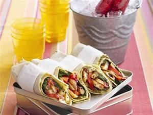 Wraps Füllung Vegetarisch : vegetarische wraps mit paprika und halloumi rezept eat smarter ~ Markanthonyermac.com Haus und Dekorationen