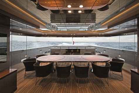 int 233 rieur yacht de luxe en photos inspirations d 233 co pour surfaces limit 233 es
