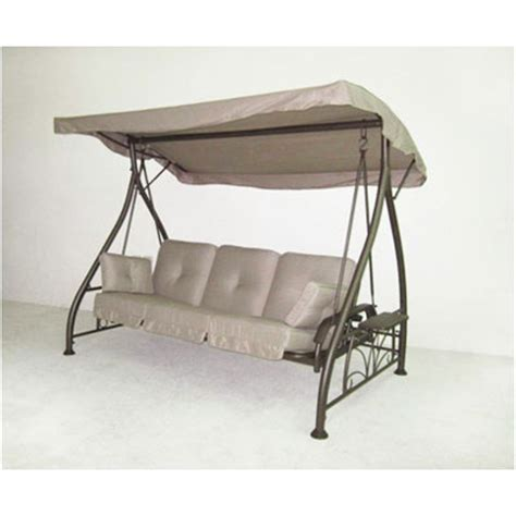 garden winds replacement canopy top for bj s living home swing walmart