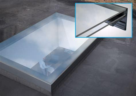 Flushglaze fixed rooflight for flat roofs