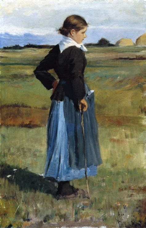 U Boat Watch Catalog Pdf by French Peasant Girl By Frederick Childe Hassam She
