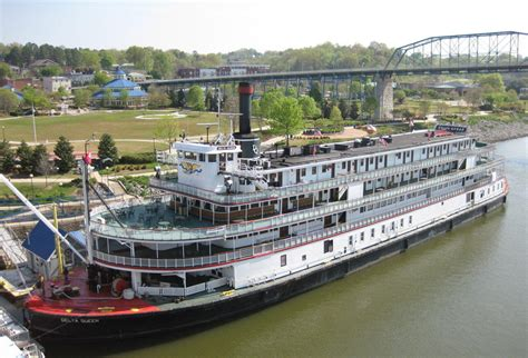 Delta Queen Boat by Delta Queen Riverboat To Be Relocated Atop Walnut Street
