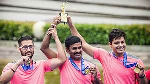 Indian men's compound team wins gold at Archery World Cup ...