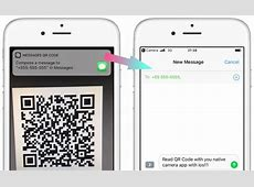 iPhones with iOS11 support native QR Code Reading QR