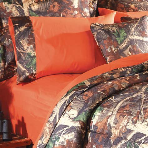 camo bedding orange camo sheet sets camo trading