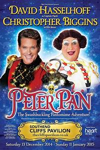 David Hasselhoff as Captain Hook in panto in Southend ...