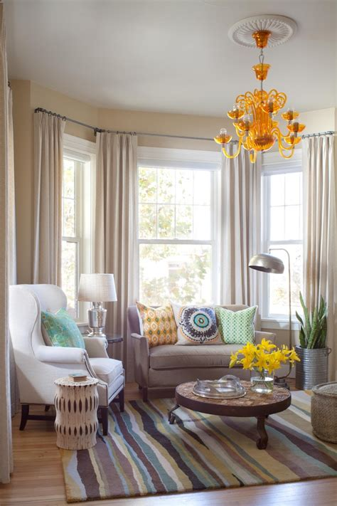 shocking bay window curtain rod lowes decorating ideas gallery in dining room traditional design