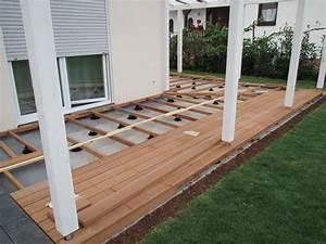 Holzdielen Für Terrasse : terrasse holz unterkonstruktion ~ Markanthonyermac.com Haus und Dekorationen