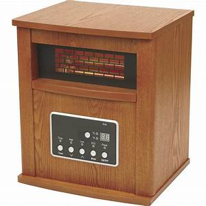 ProFusion Heat 4-Tube Infrared Quartz Heater with LED ...
