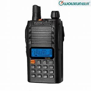 New WOUXUN KG 689C2 400 470MHz UHF Radio Communication ...